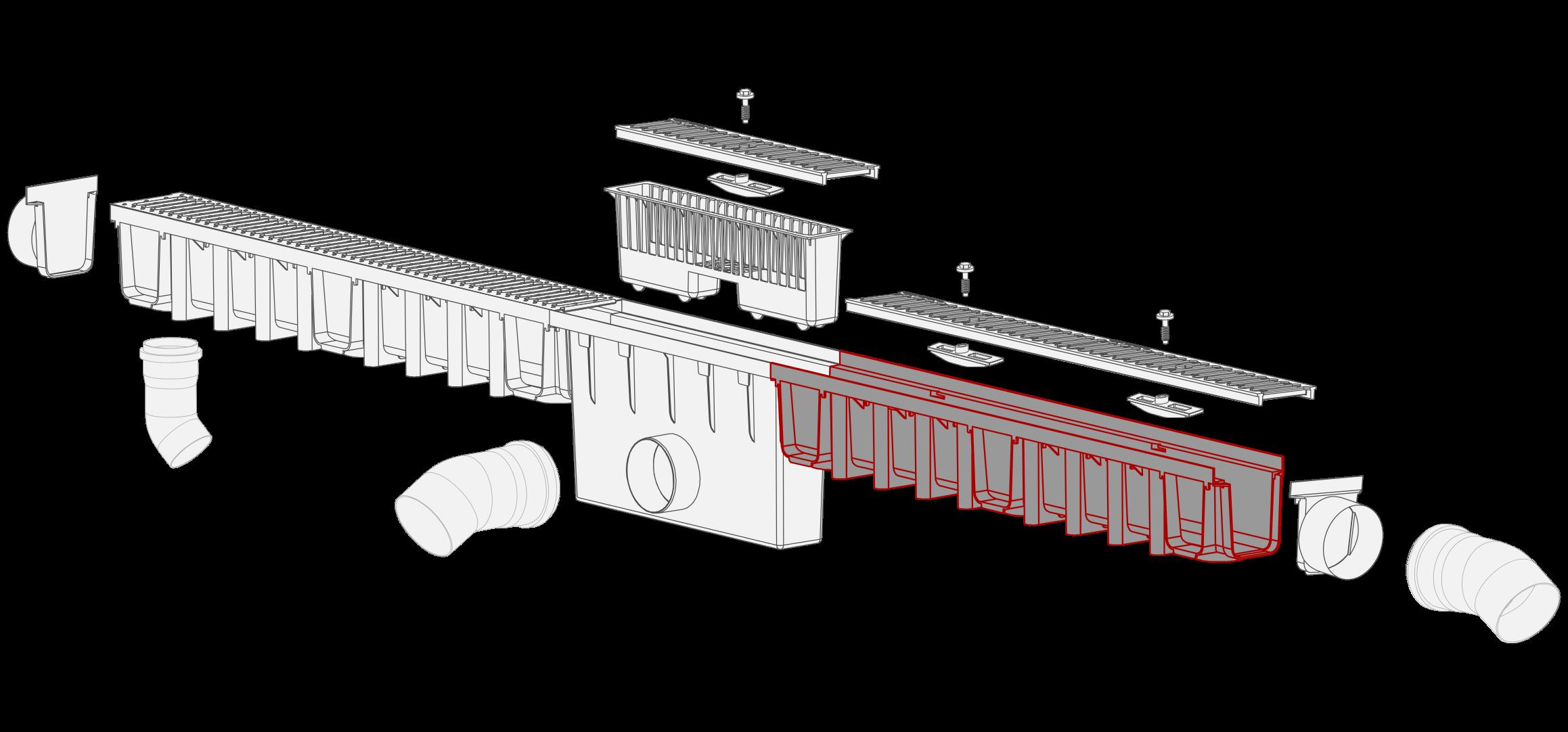 System 1000x148 kanal