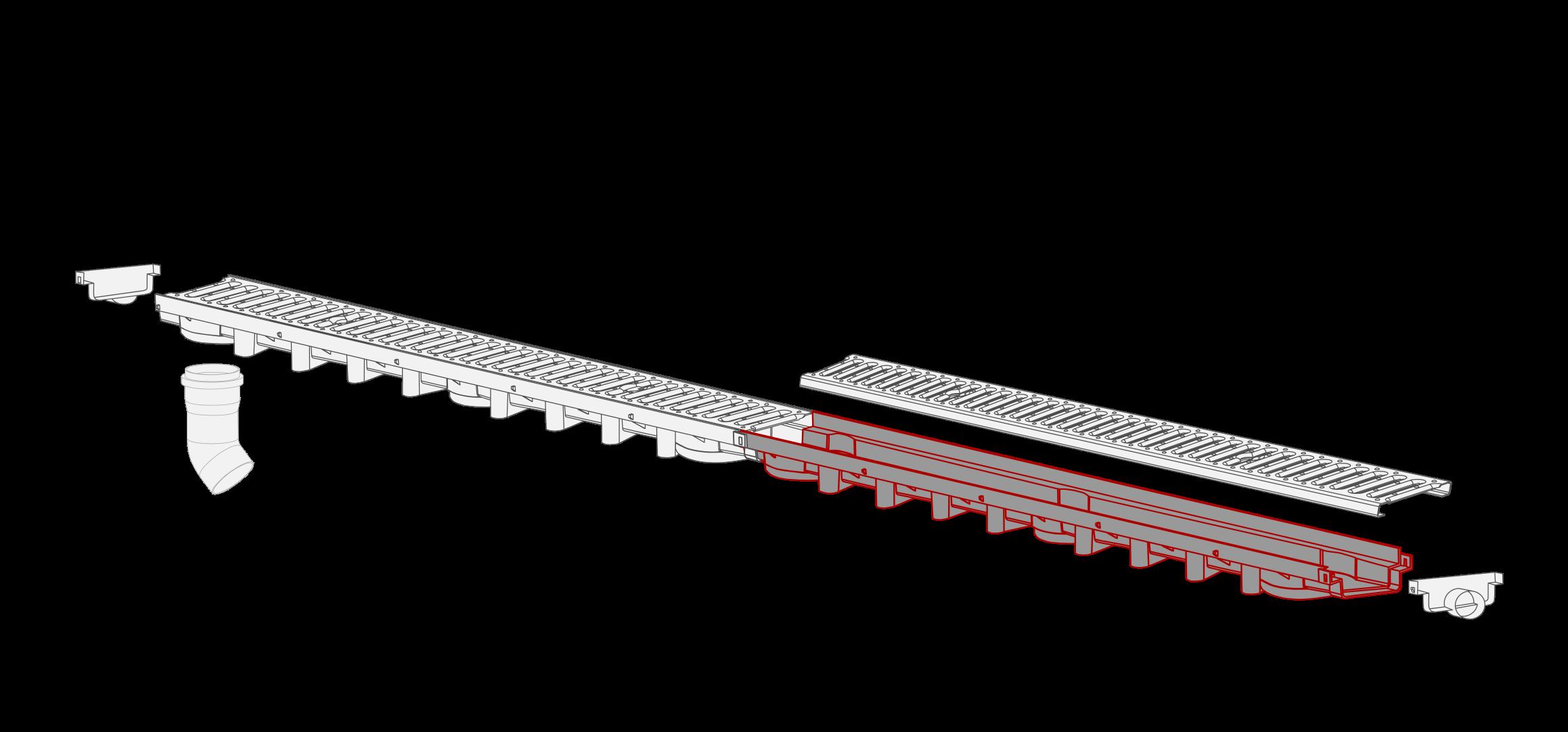 System 1000x63 kanal