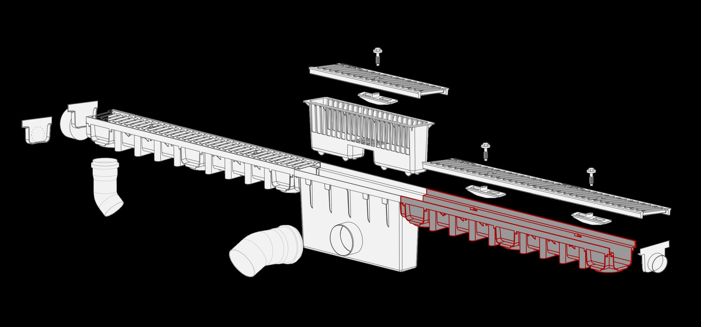 System 1000x98 kanal